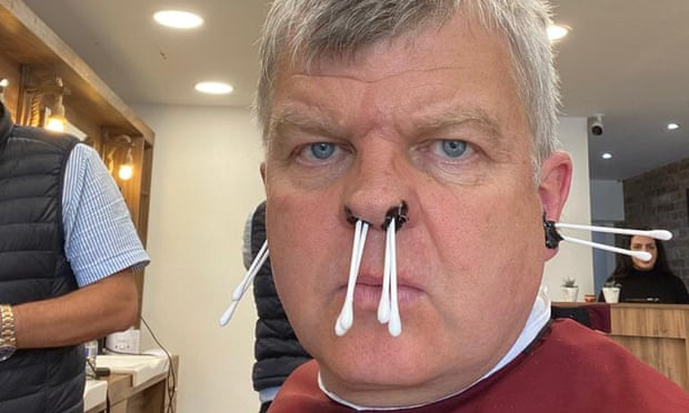 An ear and nostril waxing is exquisitely painful – but just what I needed